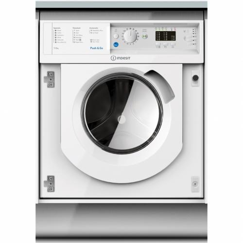 INDESIT INTEGRATED 7KG WASHER DRYER - BIWDIL7125