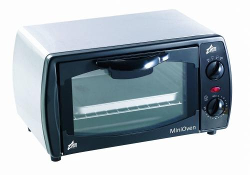 TEAM STAINLESS STEEL COLOUR 1000W 9LTR MINI TABLE TOP OVEN - 0T9M